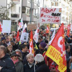 Manifestation du jeudi 05 décembre: témoignages