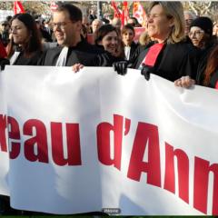 Les avocats d'Annecy plaident contre la reforme des retraites