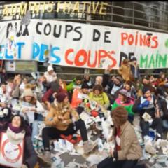 ACTION COUP de POING des «En-saignants» de Haute-Savoie devant la DSDEN Vendredi 24 Janvier 2020