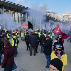 Deux défilés à Annecy contre la réforme des retraites avec 2100 manifestants