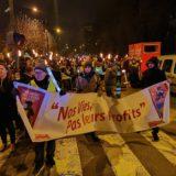 300 torches de joie et de colère dans les rues d'Annecy