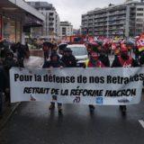 Entre 450 et 500 manifestants à Annecy contre la réforme des retraites;