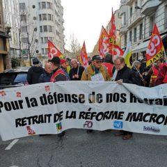 600 manifestants à Annecy contre la réforme des retraites