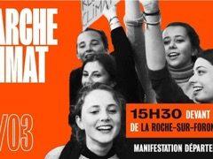 Marche climat samedi 14 mars à La Roche sur Foron