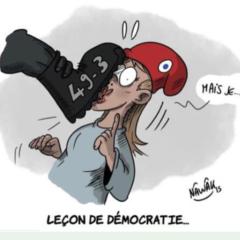 Mobilisation suite au 49-3 – Manifestation ce mardi 3 mars – 14 H Préfecture d'Annecy