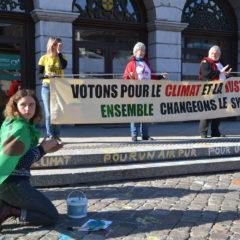Des citoyens estiment que le climat et la justice sociale ne peuvent pas attendre un autre mandat
