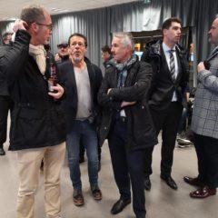 Jean-Luc Rigaut quitte la soirée électorale qu'il a organisée laissant le public confronté au coronavirus