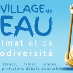 Eau, climat, biodiversité au menu du village de l'eau à Villeurbanne