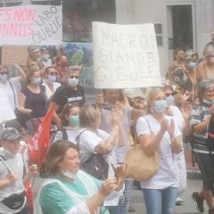 Imposante manifestation à Annecy avec 2 800 participants pour défendre notre système de santé