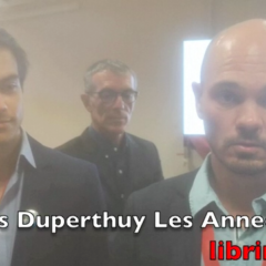 Denis Duperthuy ne reconnaît pas sa défaite