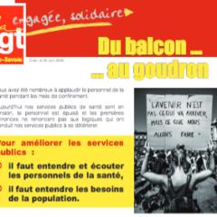 Ce mardi 30 juin manifestations organisées par la CGT en faveur du personnel soignant