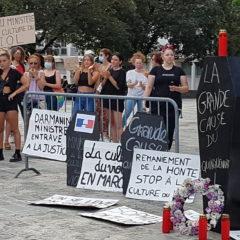 «un violeur à l'Intérieur, un complice à la Justice»