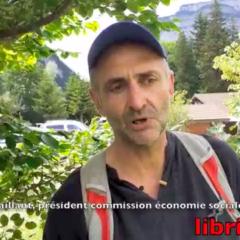 Frédéric Vaillant lance des projets participatifs dans les quartiers de Thônes