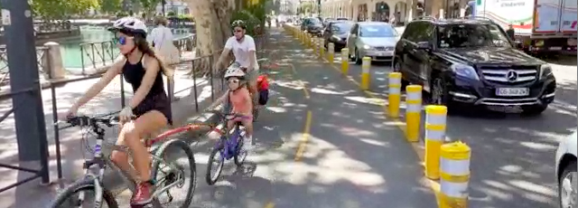 Pour le maire d'Annecy, la nouvelle voie cyclable n'augmenterait pas les bouchons