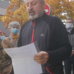 Hommage à Samuel Paty à Annecy : intervention des syndicats