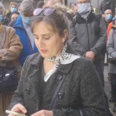 Hommage à Samuel Paty à Annecy : intervention des parents d'élèves