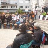 CHAMBERY: 200 manifestants ce vendredi 16 octobre pour la marche des solidarités
