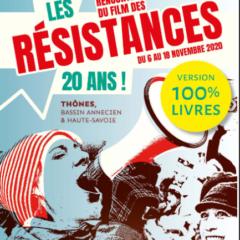 La rencontre du film des résistances est annulée.