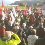 Entre 800 et 900 personnes à Annecy pour demander l'annulation de la loi sécurité globale