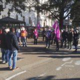 L'Union locale CGT d'Annecy a tenu à marquer symboliquement la journée internationale de lutte contre les violences faites aux femmes