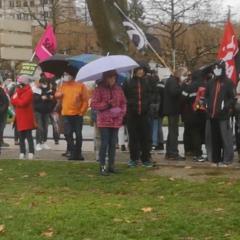 À Annecy, la détermination des manifestants est toujours aussi forte contre la loi Sécurité globale