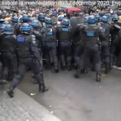 Comment le gouvernement a saboté la manifestation du 12 décembre contre la loi de sécurité globale
