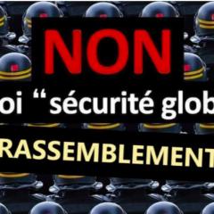 Samedi 16 janvier à Annecy, marche pour les liberté contre la loi de sécurité globale