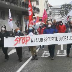 400 manifestants ont défilé à Annecy pour la suppression du projet de loi sécurité globale