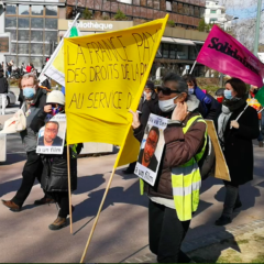 Entre 250 et 300 manifestants à Annecy, la contestation de la loi de sécurité globale de faiblit pas