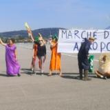 « Alors, je me déguise en légume et j'ai droit à tout ? », l'article d'Éric Renevier de Écomédia sur «l'affaire» de l'aéroport de Meythet