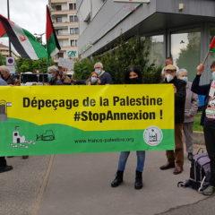 Samedi 15 mai, mobilisation à Annecy pour exiger de la France la protection des Palestiniens de Jérusalem