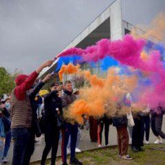 L'UNL et les lycéens mobilisés à Fauré et Baudelaire contre la tenue du bac