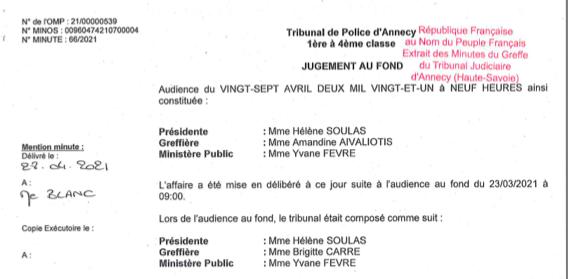 Le droit à l'information reconnue par la justice qui relaxe notre journaliste Gérard Fumex