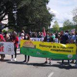 300 manifestants ce samedi 22 mai à Annecy en solidarité avec le peuple Palestinien