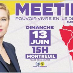 Un meeting de Clémentine Autin censuré par Darmanin