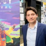 Mickaël Marin, directeur du Citia, très ému à la reprise du festival du film d'animation