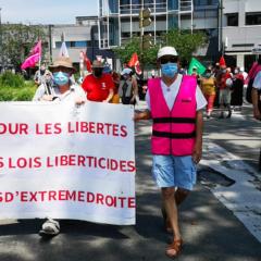 250 manifestants à Annecy contre la montée des idées d'extrême droite