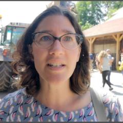DÉPARTEMENTALES Sophie Parra D'Andert, candidate «Chablais ensemble» à Thonon, résolument à gauche