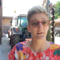 DÉPARTEMENTALES Claire Lepan candidate «Les annéciens» sur Annecy 1 veut préserver notre filière lait qui fait nos fromages de renom
