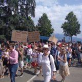 La contestation contre le gouvernement Macron s'amplifie avec plus de 5500 personnes à Annecy