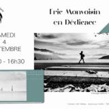 Éric Monvoisin en dédicace à la librairie Antiope