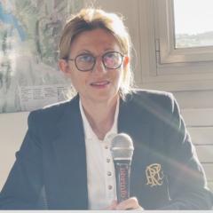 Frédérique Lardet s'affirme comme une femme de droite, pas du centre.