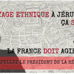 Écrivez au Président de la République pour empêcher la révocation du statut de résident de Jérusalem de Salah Hamouri  par Israël !